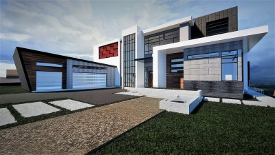 Axiom Luxury Homes Renderings