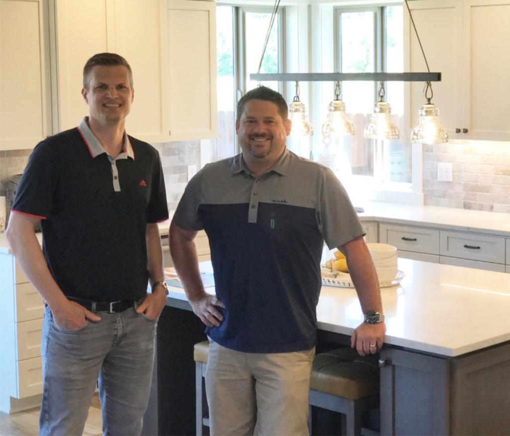Generation Homes NW owners Aaron Helmes & John Colgate