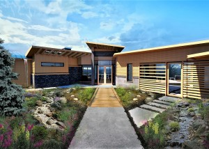 MC Custom Homes Rendering